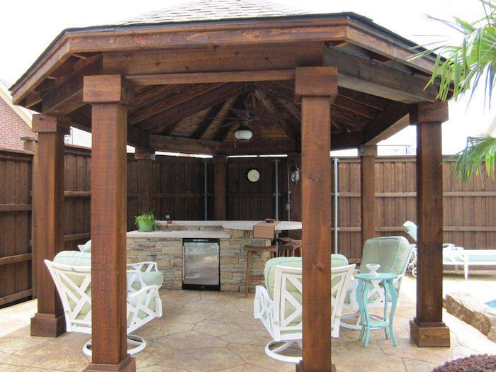 2x4 Cedar Arbor · Cedar Patio Cover