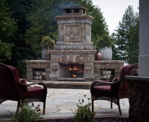Belgard Harmony Fireplace