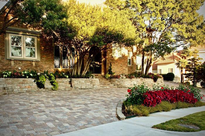 Belgard driveway