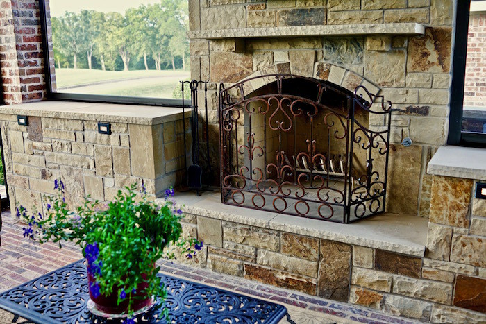 Fairview Fireplace -Outdoor Living