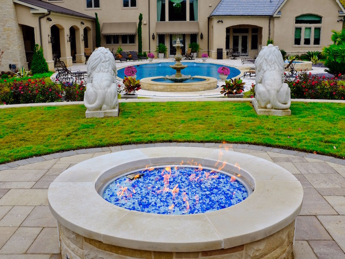 Fire Pit, Dallas Outdoor Kitchens