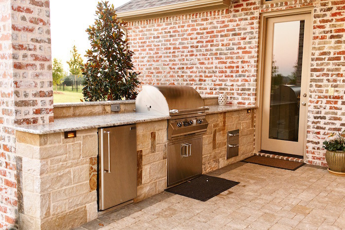 Outdoor Kitchen Project - Dallas