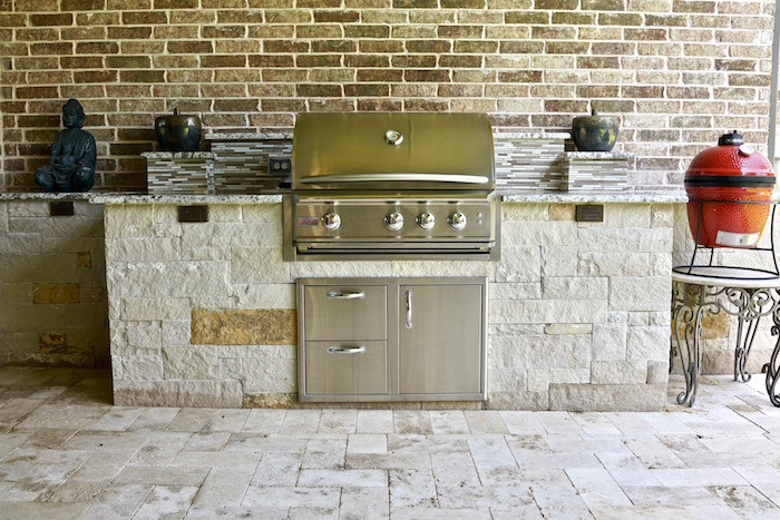 Outdoor Kitchen Project - Plano