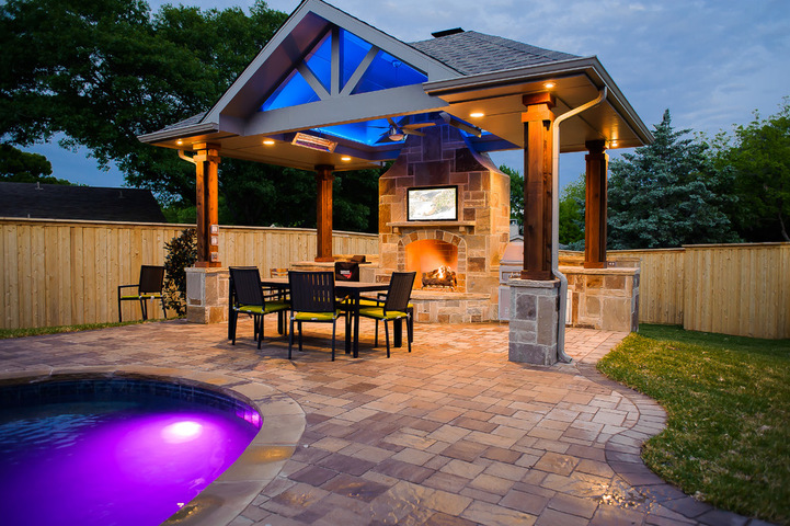 Richardson outdoor living project dallas outdoor for Dallas outdoor kitchens
