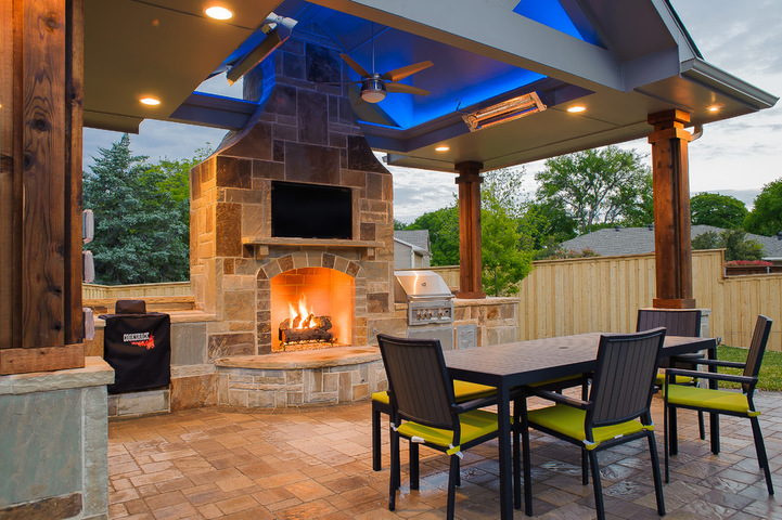 Richardson fireplace