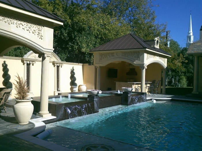 Swimming pool remodeling in dallas tx dallas outdoor for Dallas outdoor kitchens