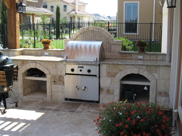 Craig ranch project at mckinney tx dallas outdoor kitchens for Dallas outdoor kitchens