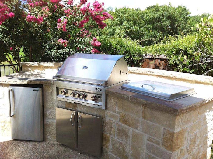 Stone Outdoor Kitchens in Dallas, TX - Custom Stone Work