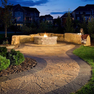 firepit dallas outdoor kitchens