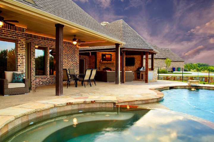 Outdoor Living Projects - Dallas Outdoor Kitchens and Hardscape